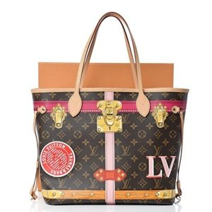 Limited Edition Louis Vuitton Monogram Neverfull